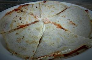 Proscuitto Roasted Tomato Goat Cheese Quesadilla NFTJ